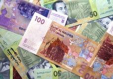 Дирхамы валюты Стоковое фото RF