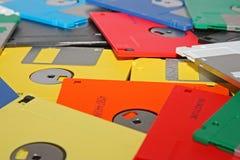 дискет компьютера много Стоковые Фотографии RF