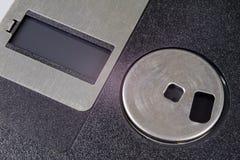 3 5 ' дискет Сломленная несущая данных к старым компьютерам на isolat Стоковое Изображение RF