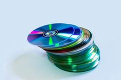 Диски компактного диска DVD Стоковые Изображения RF