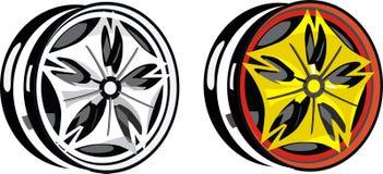 Диски колеса иллюстрация штока