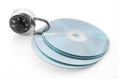 диски обеспеченные Стоковая Фотография