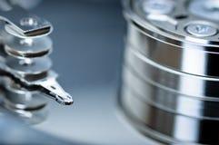 дисковод детали трудный Стоковое фото RF