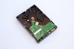 Дисковод жесткого диска изолированный на белой предпосылке HDD Стоковое фото RF