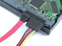 Дисковод жесткого диска с SATA & силой Pluged Стоковые Фотографии RF