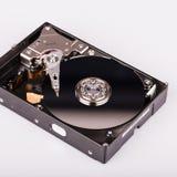 Дисковод жесткого диска HDD изолированный на белой предпосылке Стоковые Фото