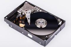Дисковод жесткого диска HDD изолированный на белой предпосылке Стоковое Изображение RF