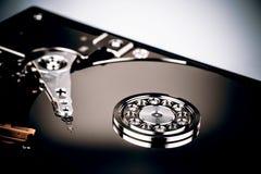 Дисковод жесткого диска HDD на белой предпосылке Стоковая Фотография RF