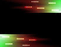 Диско освещает предпосылку Стоковые Фотографии RF