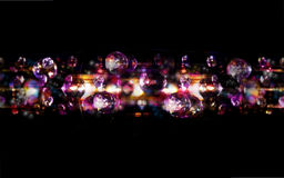 Диско освещает яркую предпосылку bokeh стоковые изображения rf