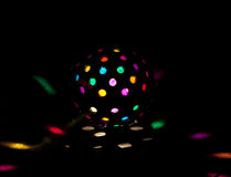 диско покрашенное шариком стоковое изображение
