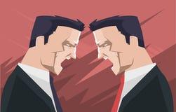 Дискуссия бизнесменов Стоковая Фотография RF