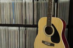 Диск гитары и звука Стоковая Фотография