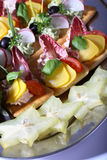 диск еды перста Стоковое Фото