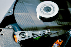 Диск жесткия диска Стоковые Изображения