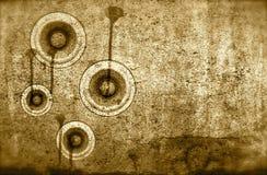 Диск-жокей DJ звуковой системы диктора стены Grunge старый бесплатная иллюстрация