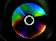 Диск КОМПАКТНОГО ДИСКА и DVD стоковое изображение rf