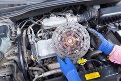Диск муфты сцепления автомобиля стоковое фото