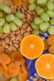 Диск плодоовощ и гайки Стоковое Фото