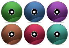 диск собрания компактного диска 2 Стоковые Фотографии RF