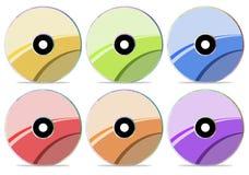 диск собрания компактного диска 3 Стоковое Изображение RF