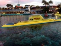 Диснейленд находя рейс подводной лодки Nemo Стоковое Изображение RF