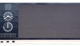 дисплей афиши электронный Стоковое фото RF