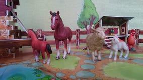 Дисплей диорамы скотного двора Стоковая Фотография RF