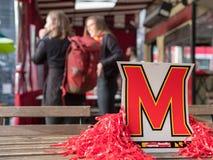 Дисплей и украшения университета Мерилендаа на событии учеников Стоковое Изображение RF