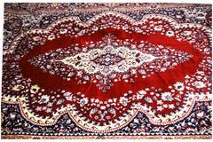дисплей конструированный ковром Индия Кашмир Стоковое Фото