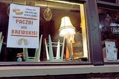 Дисплей окна дня Dyngus в Кливленд, Огайо, США стоковые изображения rf