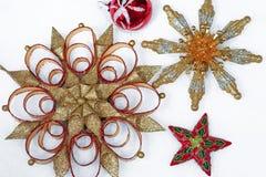 Дисплей орнамента рождества Стоковые Фотографии RF