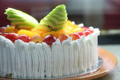дисплей торта Стоковая Фотография