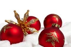 Дисплей украшения рождества Стоковые Изображения