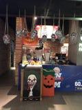Дисплей хеллоуина на CGV стоковая фотография