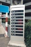 Дисплей шильдика для автостоянки автомобиля наличия в sto отдела стоковые изображения rf