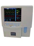 дисплей doppler сердечнососудистого цвета цифровой Стоковое фото RF