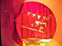 Дисплей NYC окна рождества &Taylor лорда Стоковая Фотография RF