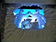 Дисплей NYC окна рождества &Taylor лорда Стоковые Изображения