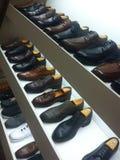 Дисплей ботинка людей Стоковые Изображения RF