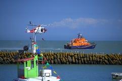 Дисплей Великобритания спасательной службы береговой охраны Стоковые Фотографии RF