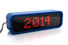Дисплей водить 2014 год иллюстрация штока