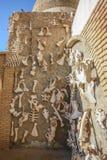 Дисплей животных косточек в зоопарке Tozeur Стоковое Фото