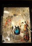 Дисплей окна на главе семьи Bergdorf, NYC Стоковые Фотографии RF