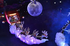 Дисплей окна праздника на MACY'S Стоковые Изображения