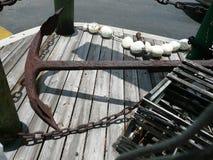 Дисплей ресторана морской Стоковое Изображение RF