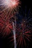Дисплей фейерверка Стоковая Фотография RF