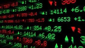 Дисплей фондовой биржи акции видеоматериалы