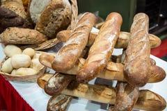 Дисплей хлеба ремесленника Стоковое Изображение