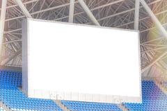 Дисплей электронной афиши на стадионе текст ваш Стоковое Изображение